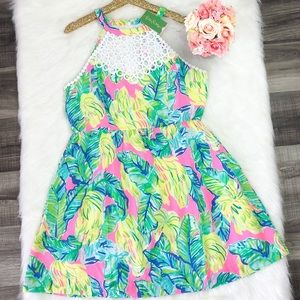 Lilly Pulitzer Pink Local Flavor Kinley Dress
